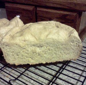 crock pot bread sliced